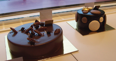 Chocolate-Praliné Cake and Megève