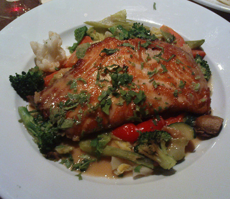 Salmon and Veggies