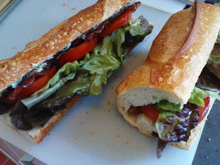 His and Hers BBLTs