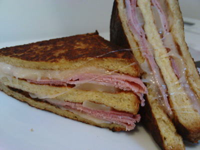 French toast Monte Cristo Sandwich