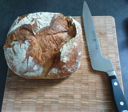Oh, bread knife, how I\'ve missed you!