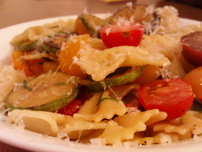 Simple, fresh and tasty summer pasta.
