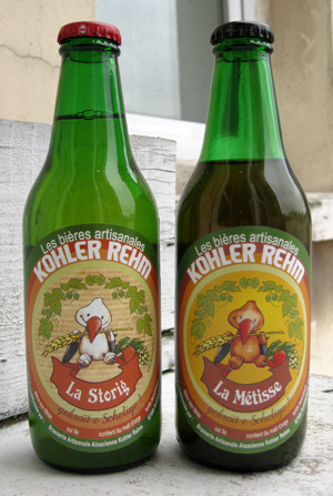 Two beers from Kohler-Rehm