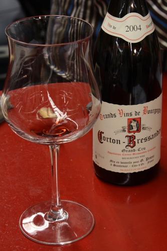 G. Prieur's tasting glass