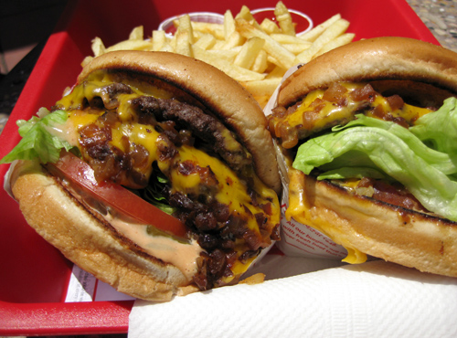 Who doesn't love a Double-Double, Animal style?