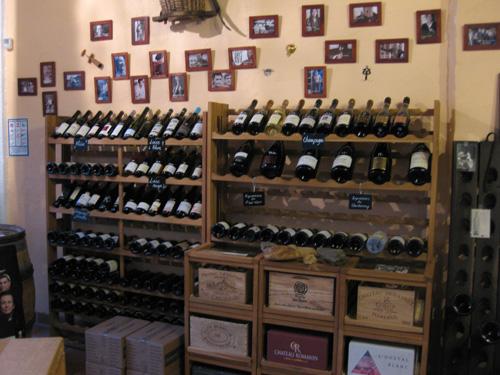 Ô Gré du Vin, interior